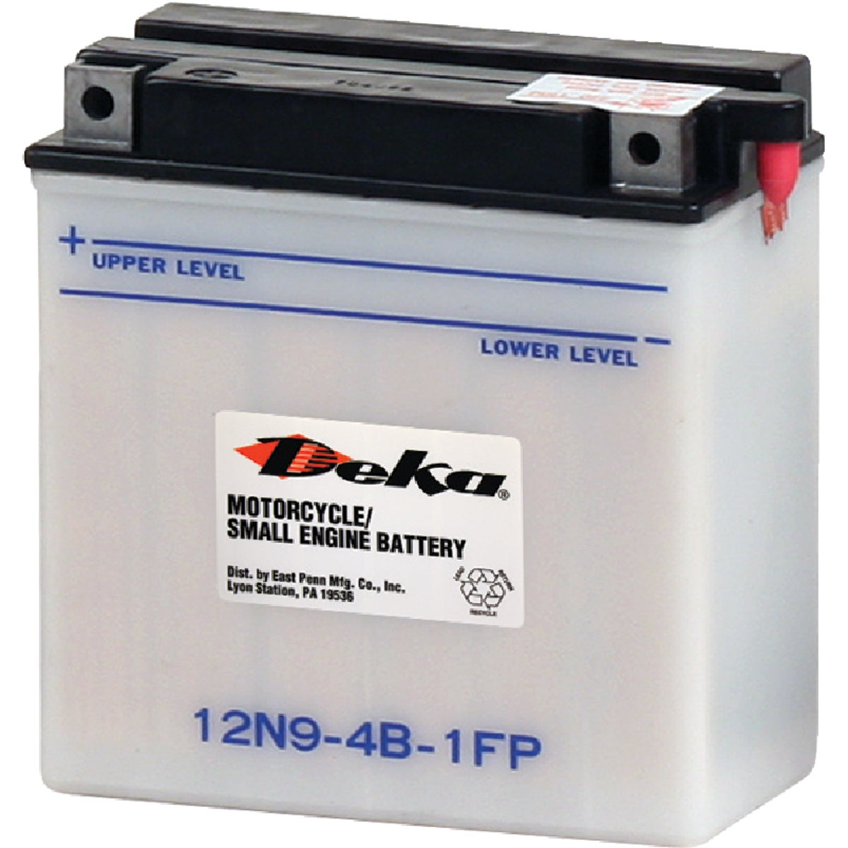 12V SMALL ENGINE BATTERY - 12N9-4B1 by East Penn Mfg. Co.