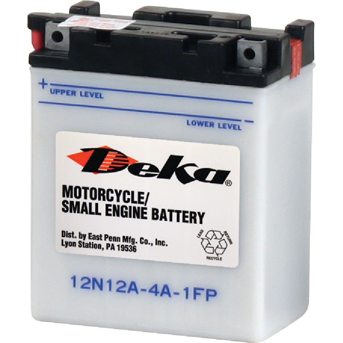 Deka Powersport Battery, 12N12A4A1FP