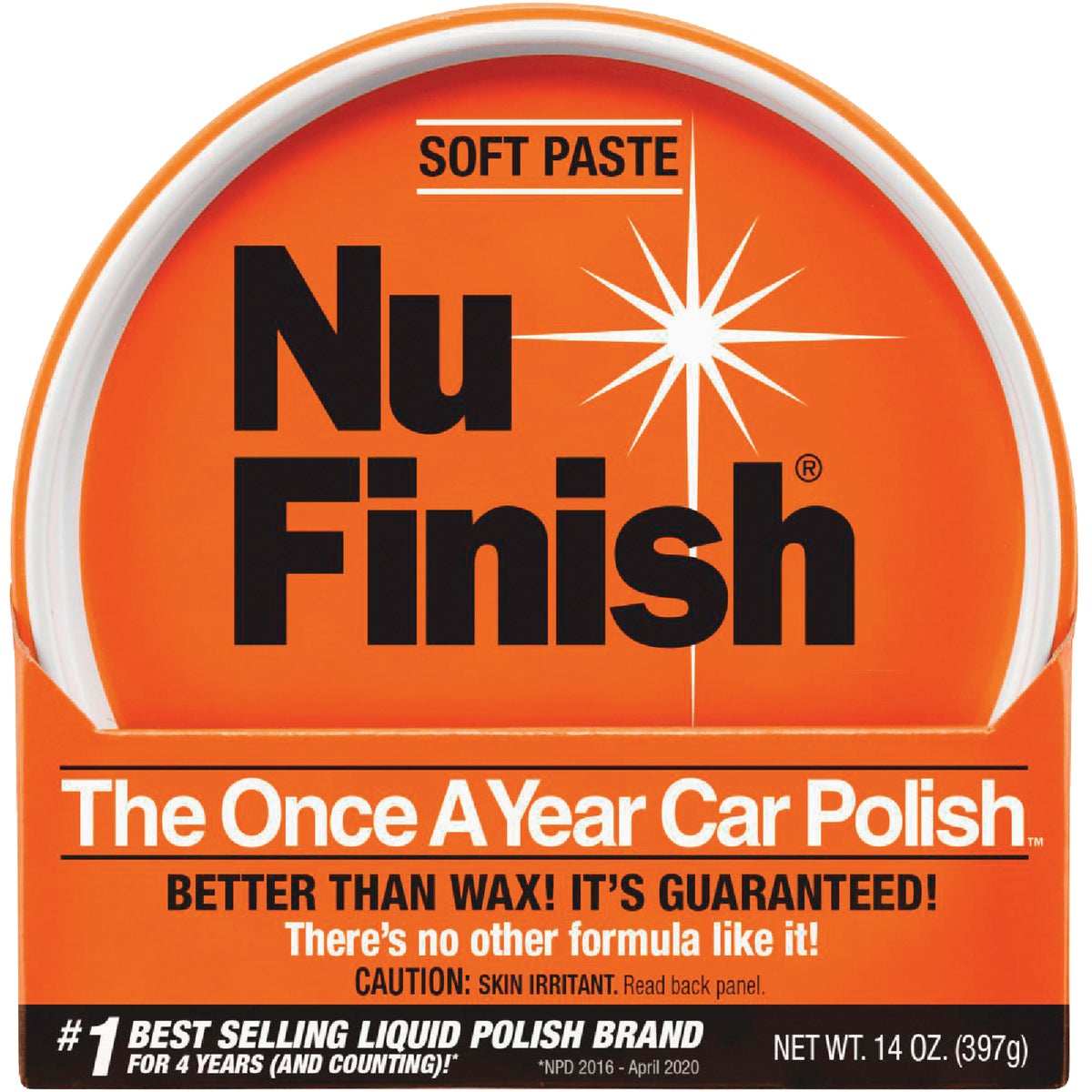 PASTE CAR POLISH - NFP-80 by Reed Union Corp