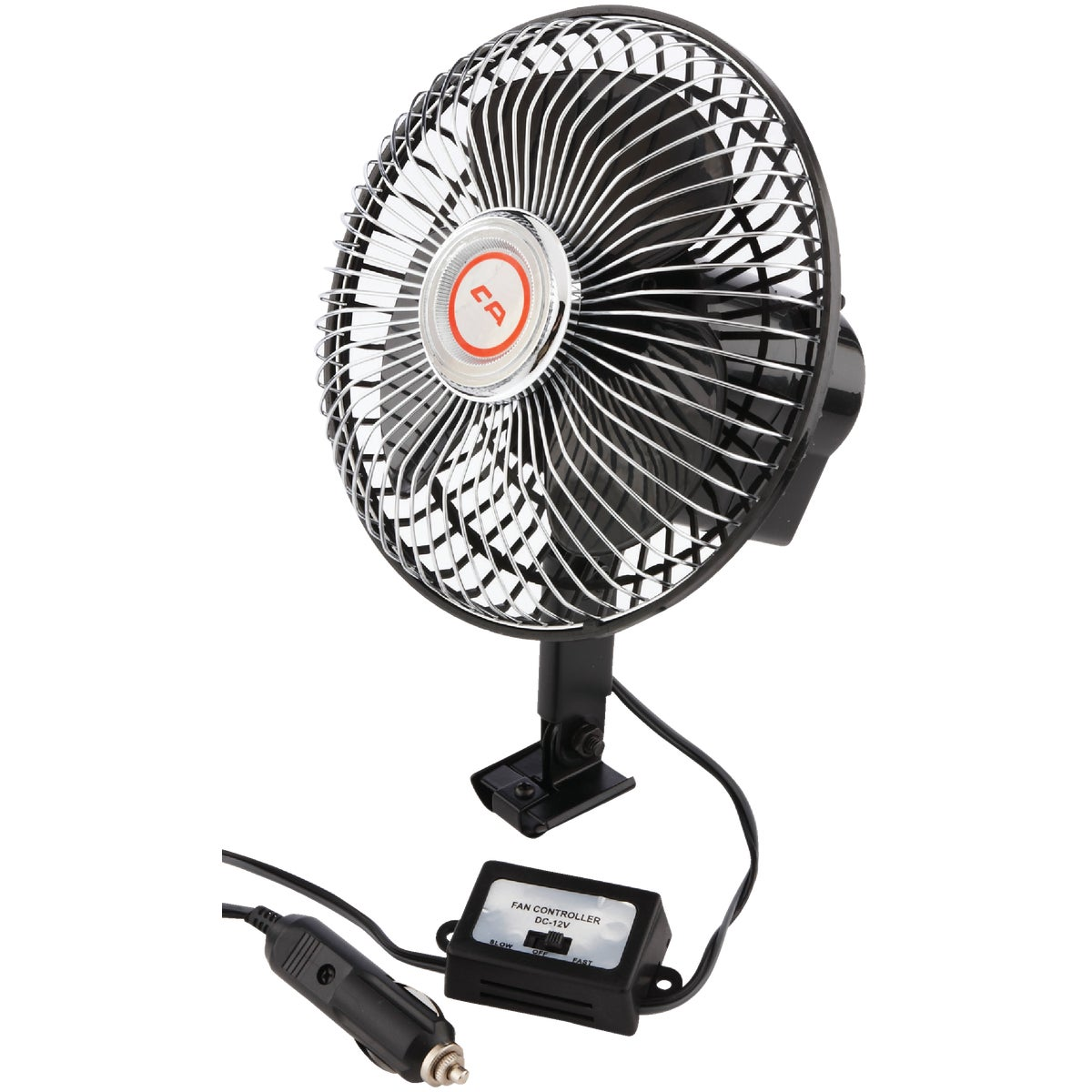 OSCILLATING AUTO FAN - 40009 by Custom Accessories