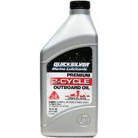 Quicksilver Outboard 2-Cycle Motor Oil, MERC92858020Q01