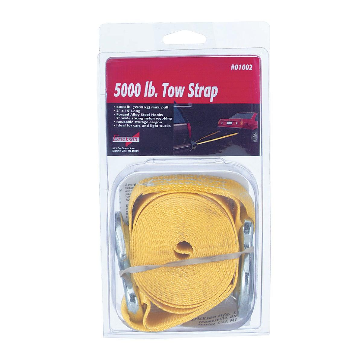 "2""X15' TOW STRAP - 01002 by Erickson Mfg Ltd"