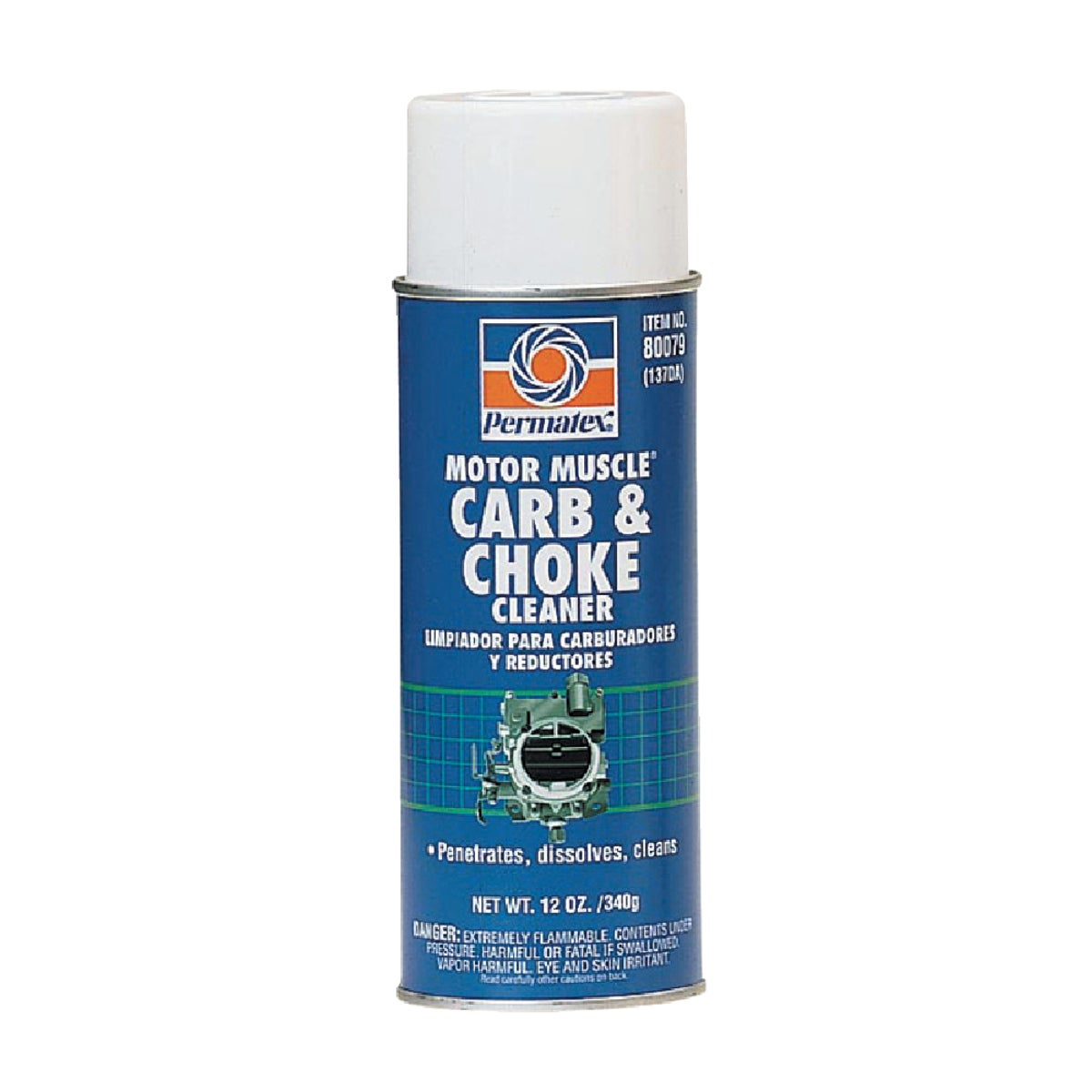 16OZ CARB&CHOKE CLEANER - 80279 by Permatex Inc