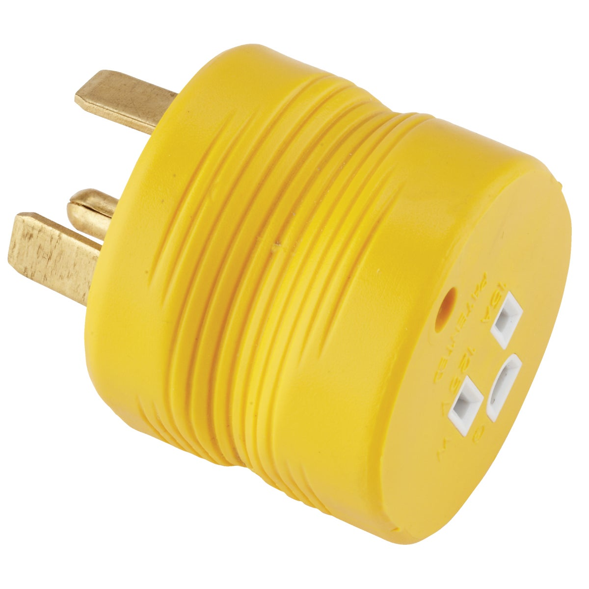 30M-15F ELECTRIC ADAPTER - 55233 by Camco Mfg.