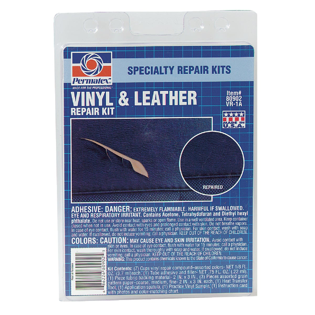 VINYL/LEATHER REPAIR KIT - 80902 by Itw Global Brands