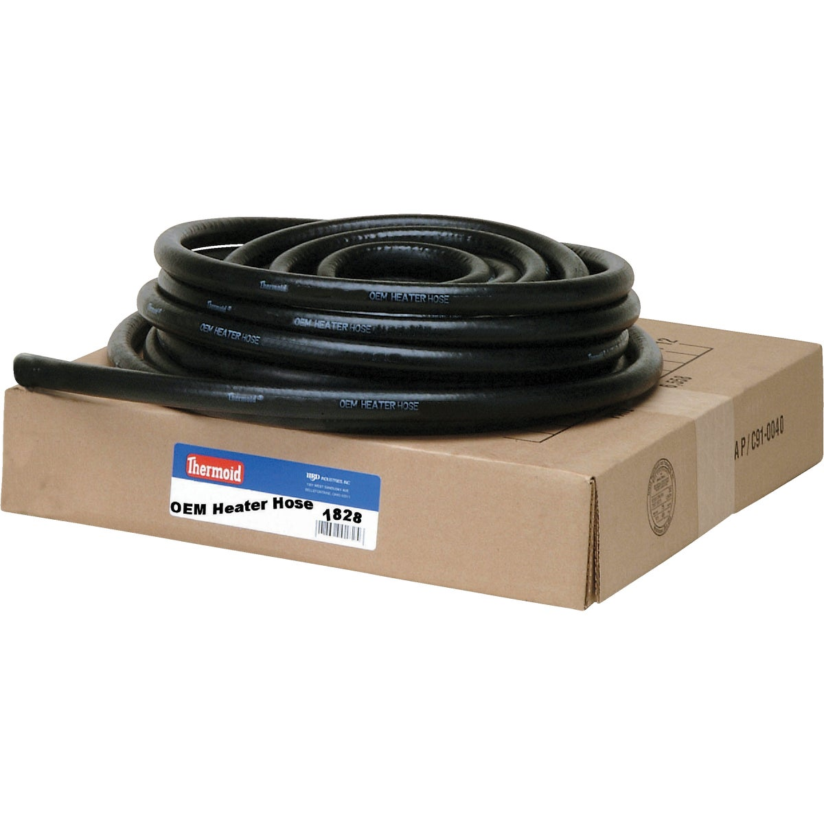 "1"" BLACK HEATER HOSE"