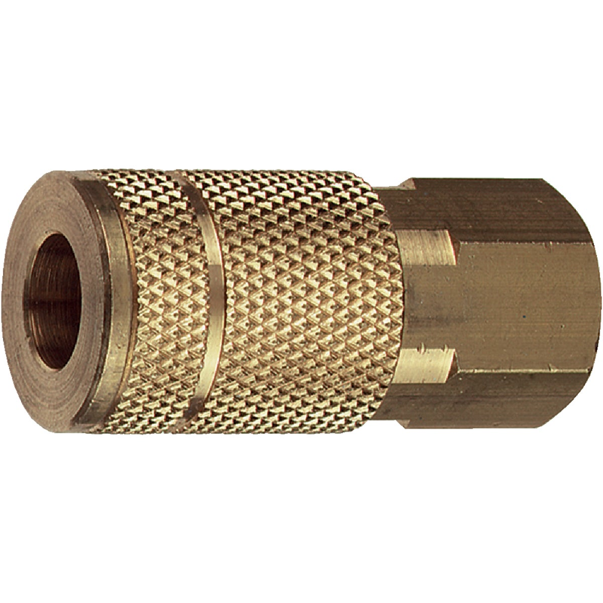"1/4""T-F FEMALE COUPLER - 13-135 by Plews  Lubrimatic"
