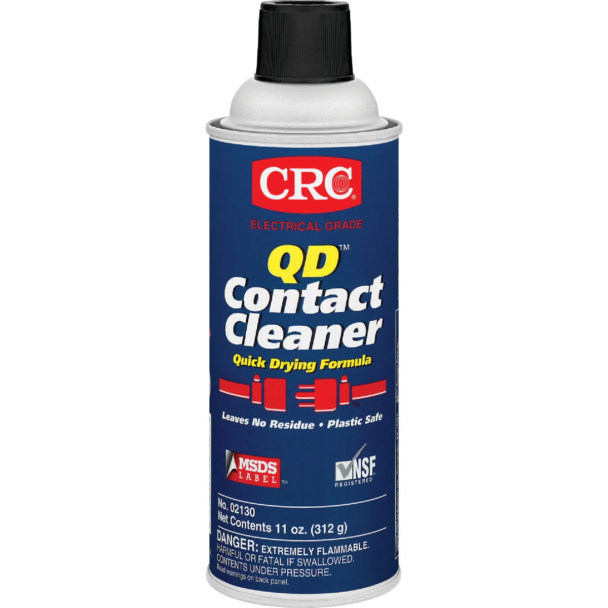 11OZ CONTACT CLEANER - 02130 by Crc Industries Inc