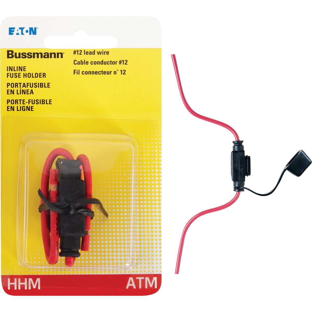 ATM INLINE FUSE HOLDER - BP/HHM-RP by Bussmann Cooper