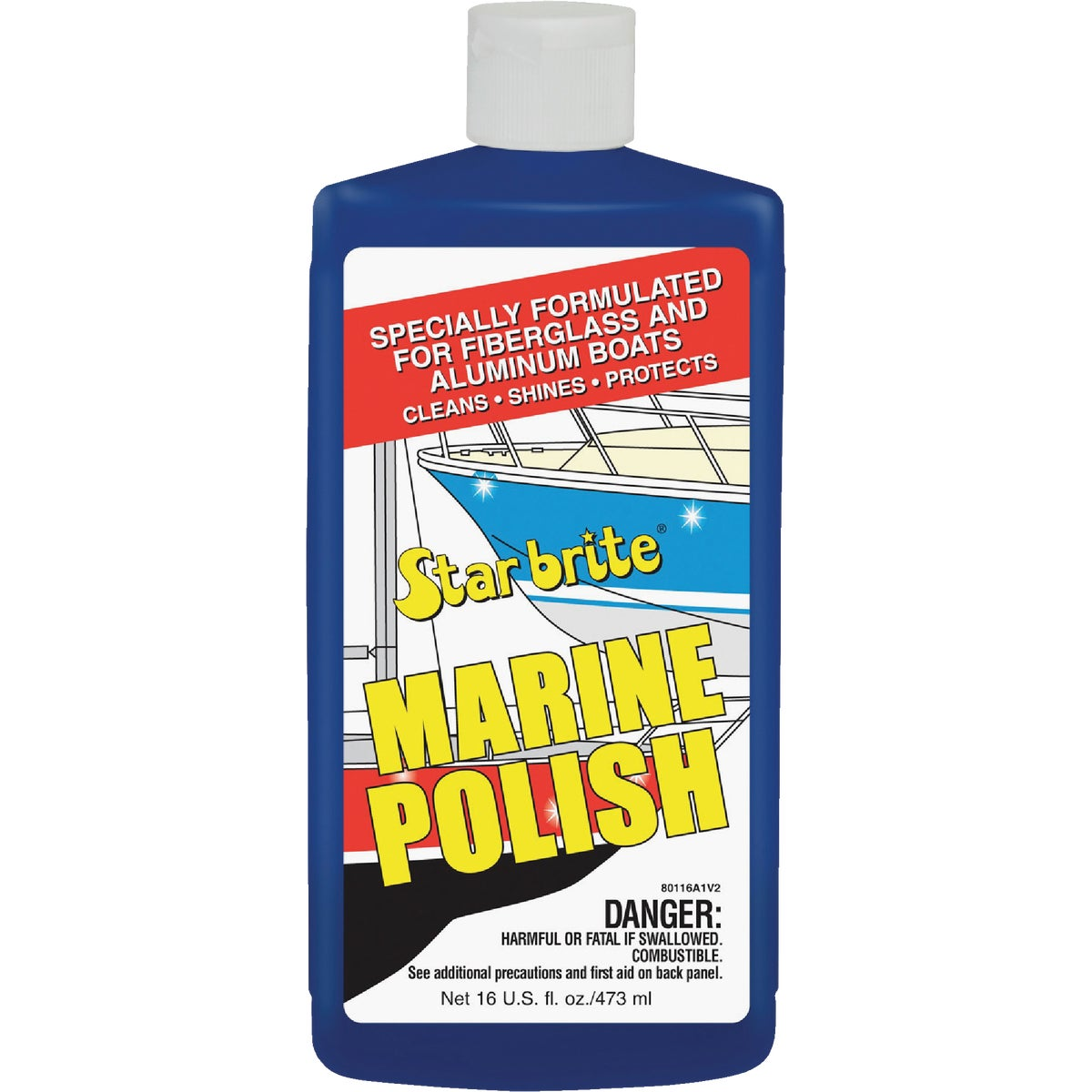 16OZ MARINE POLISH - 80116 by Seachoice Prod