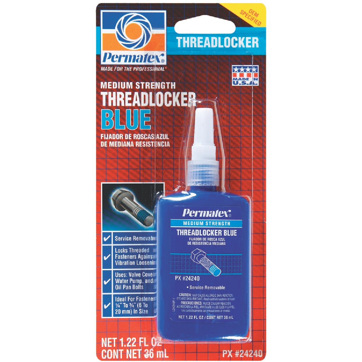 36ML THREADLOCKER - 24240 by Itw Global Brands