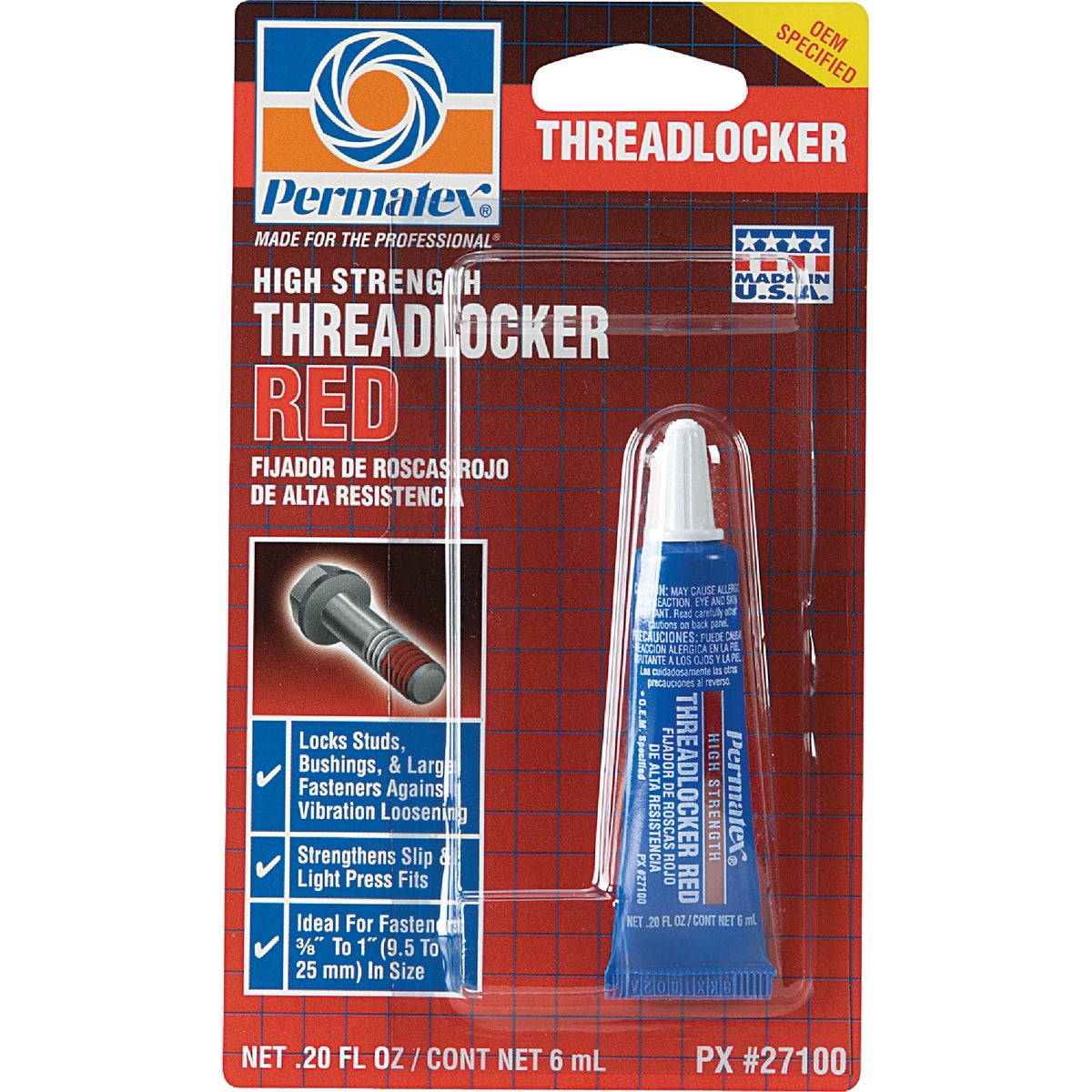 6ML THREADLOCKER - 27100 by Itw Global Brands