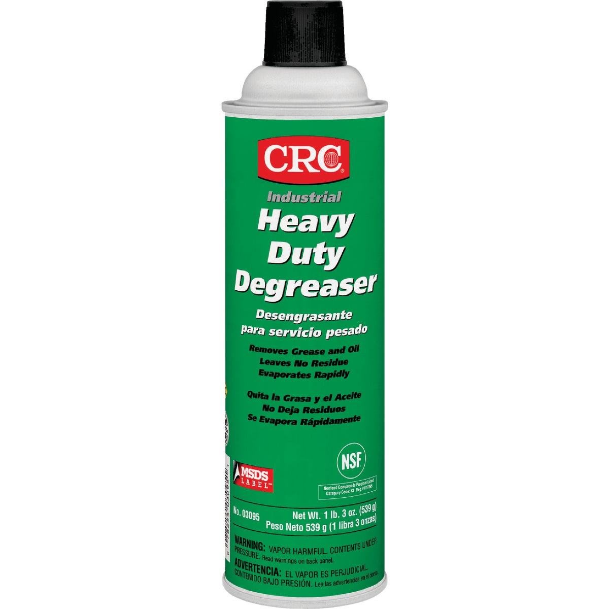 20OZ H DUTY DEGREASER - 03095 by Crc Industries Inc