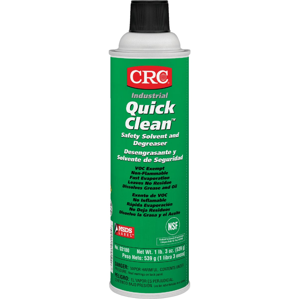 CHLORINATED DEGREASER - 03180 by Crc Industries Inc