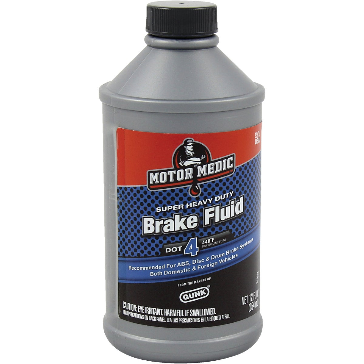 12OZ BRAKE FLUID - M4512/6 by Radiator Specialty