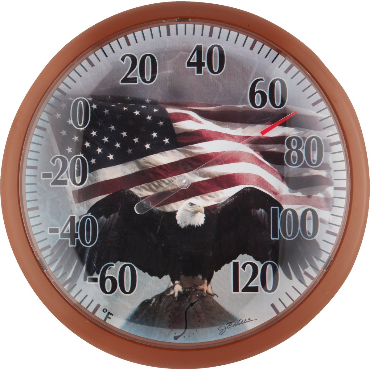 FLAG DIAL THERMOMETER - 90007-215 by Taylor Precision