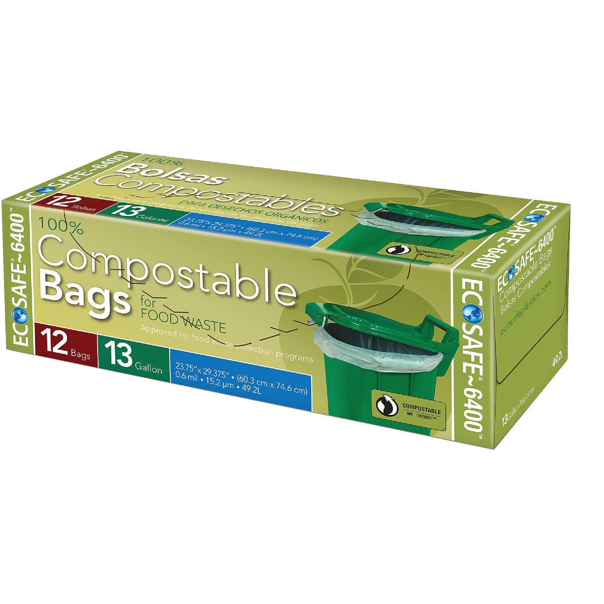 12CT 13GAL TRASH BAGS - GKL032194 by Presto Products