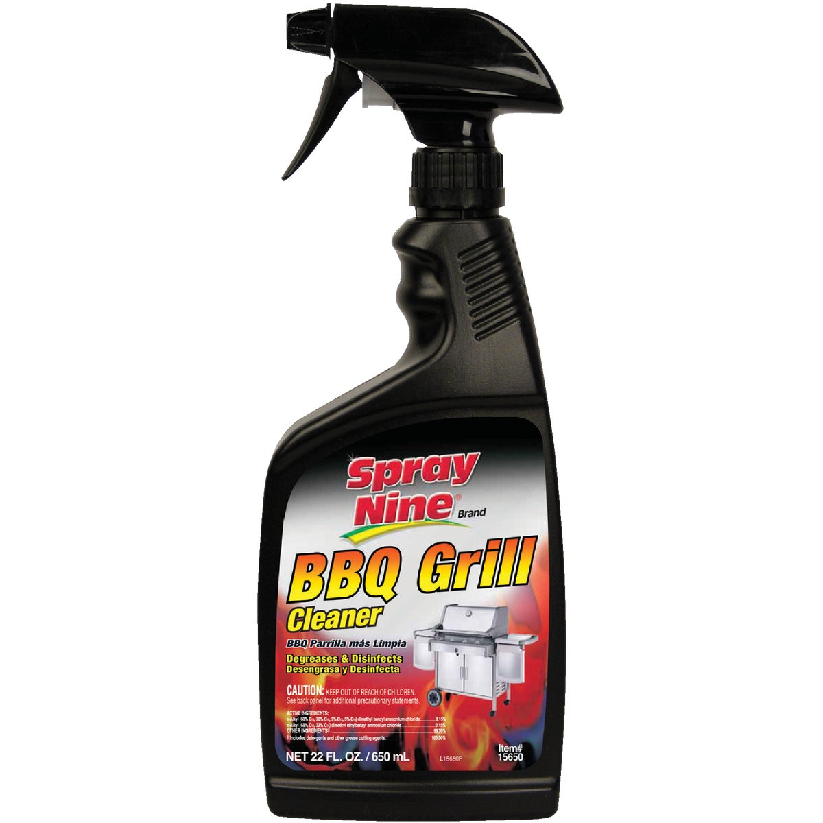 22OZ BBQ GRILL CLEANER - 15650 by Itw Global Brands