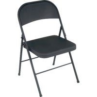 Cosco Home & Office BLACK METAL CHAIR 14-711-005X