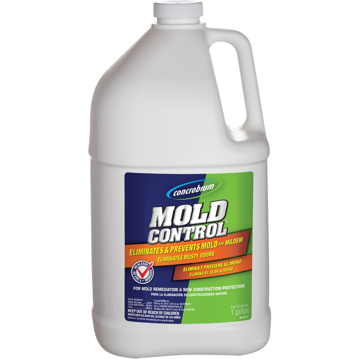 1GAL MOLD CONTROL - 025-001 by Siamons Intl