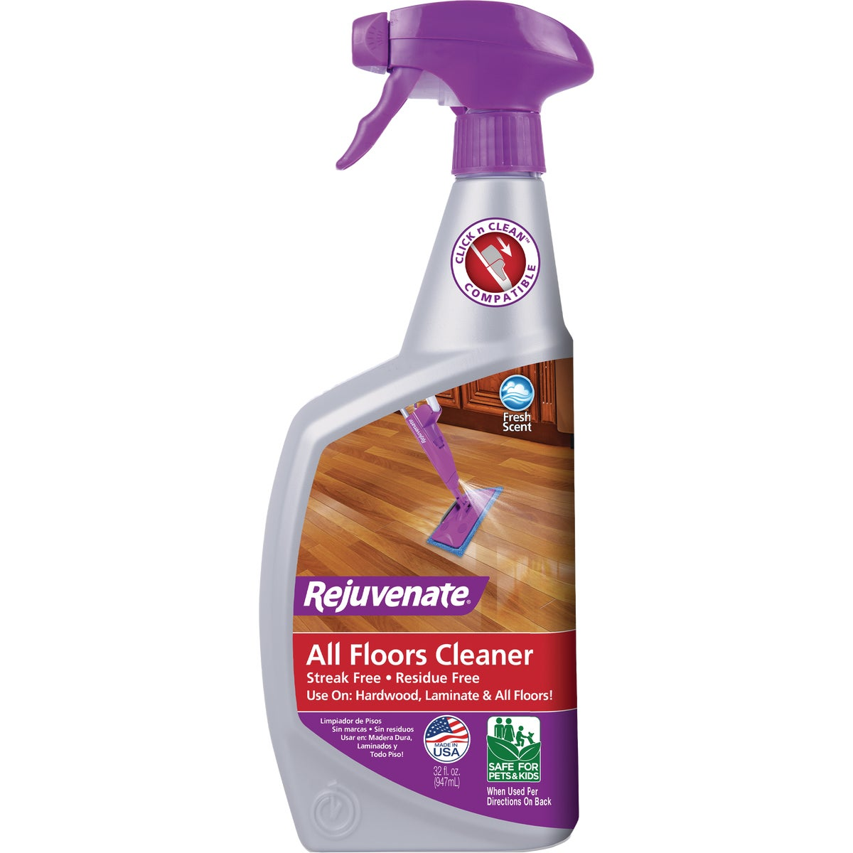 32OZ FLOOR CLEANER - RJFC32RTU by For Life Products