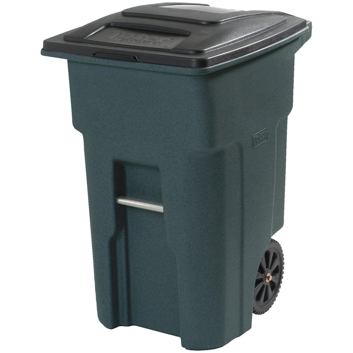 32GAL 2-WHEEL TRASH CAN - 025532-D1GRS by Toter
