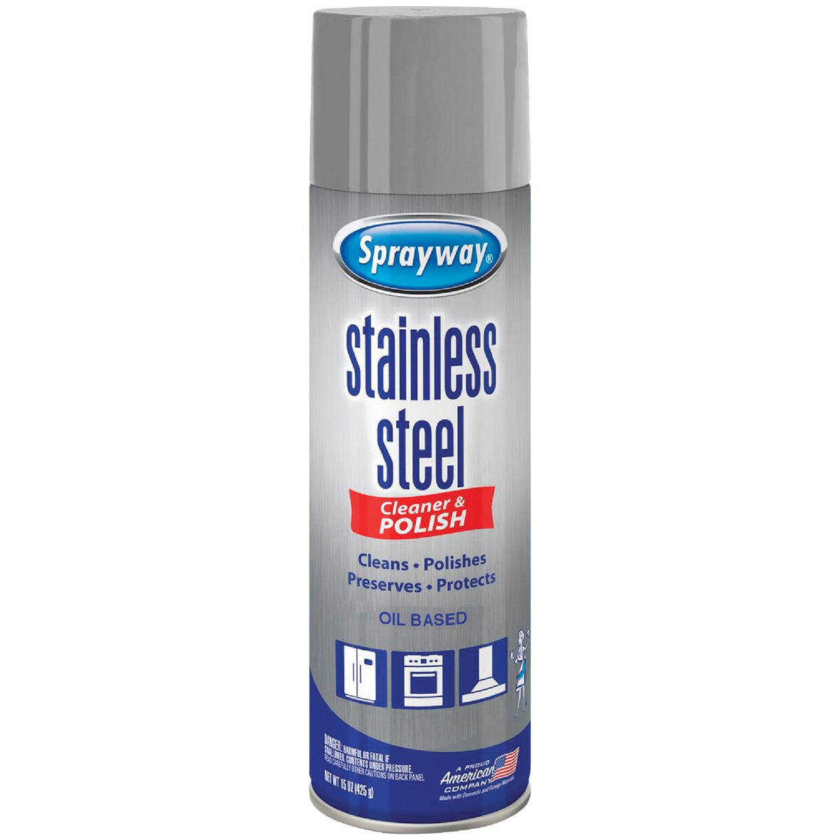 STAINLESS STEEL CLEANER - SW841R by Sprayway Inc
