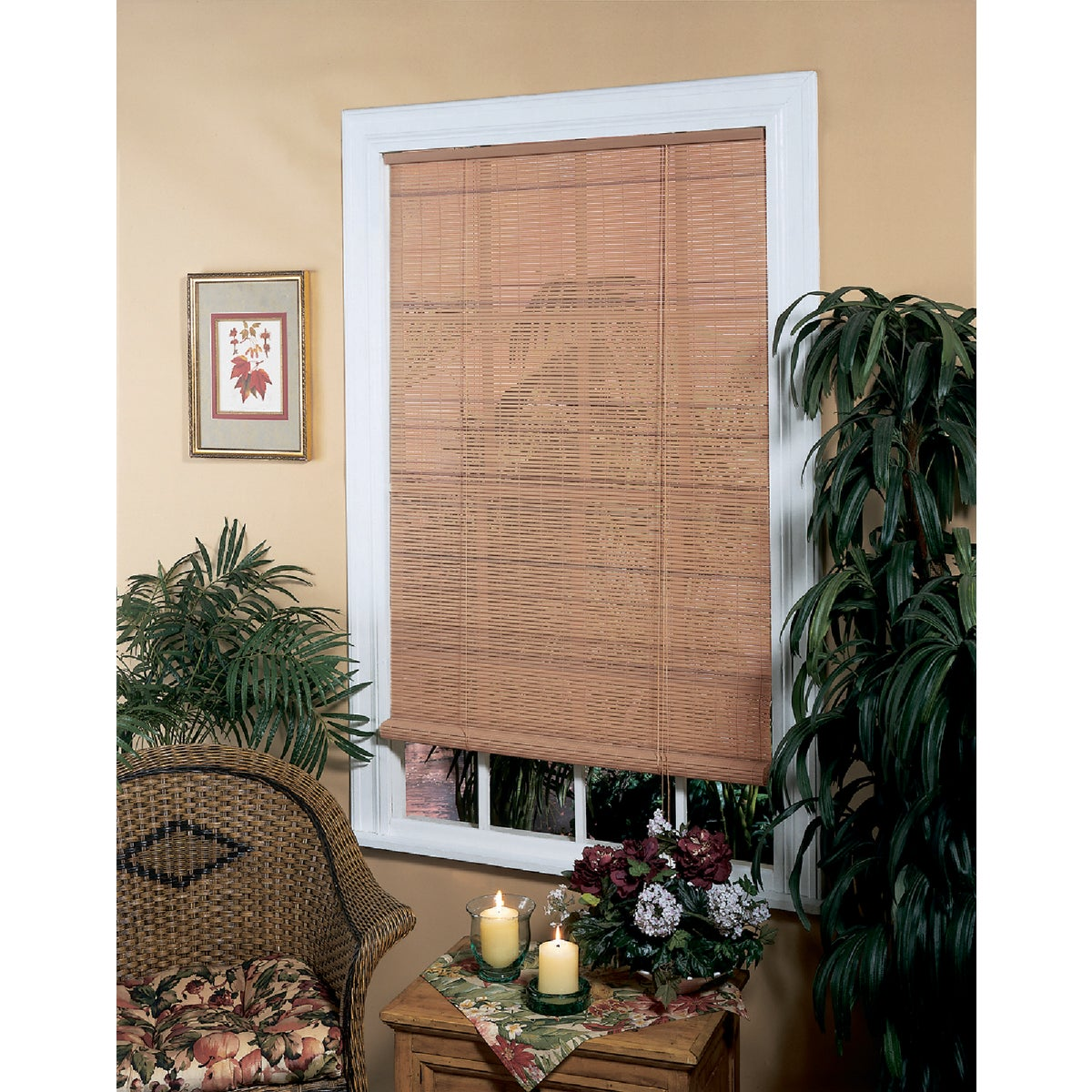 60X72 WDGN ROLL-UP BLIND