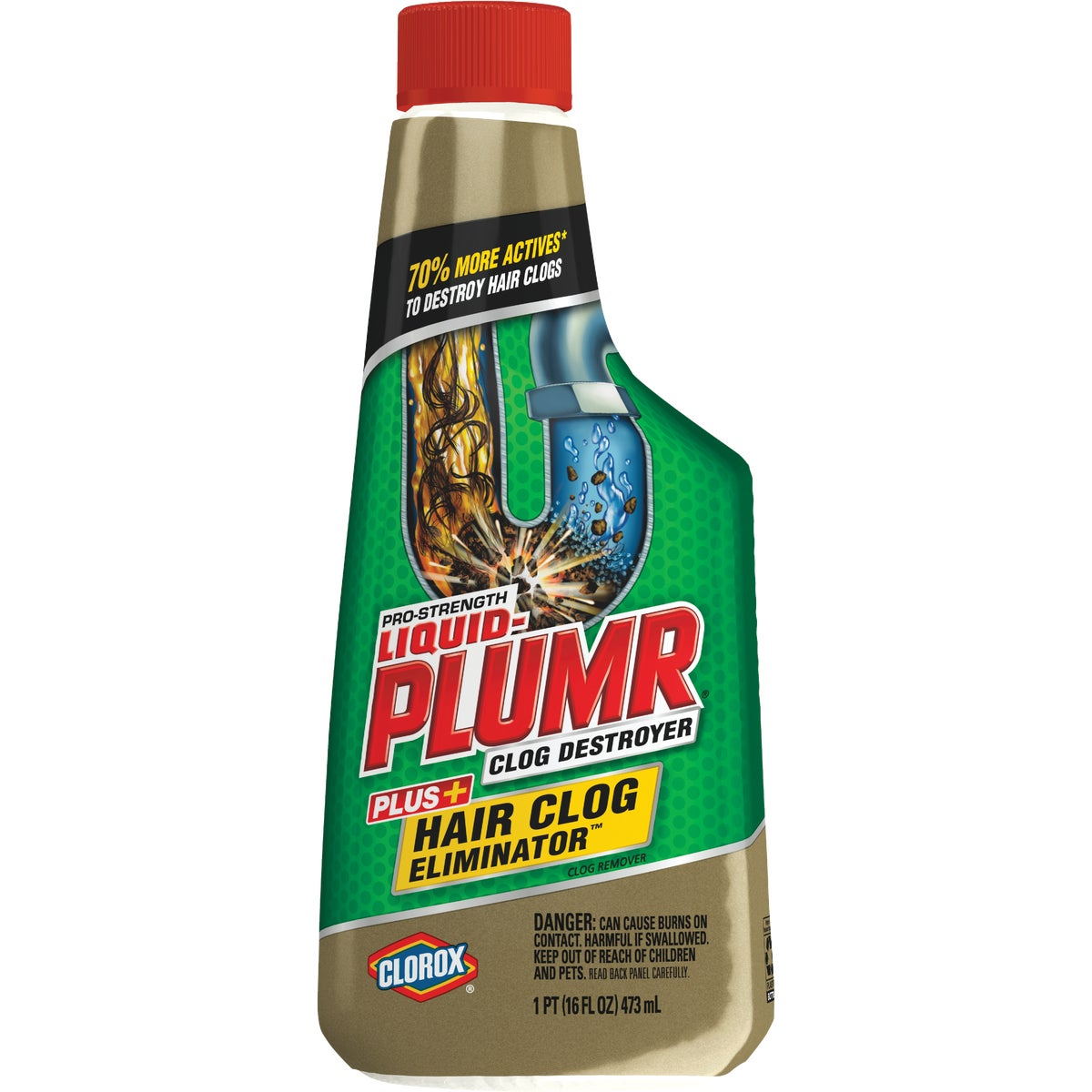 DBL IMPACT LIQUID-PLUMR - 30708 by Clorox/home Cleaning