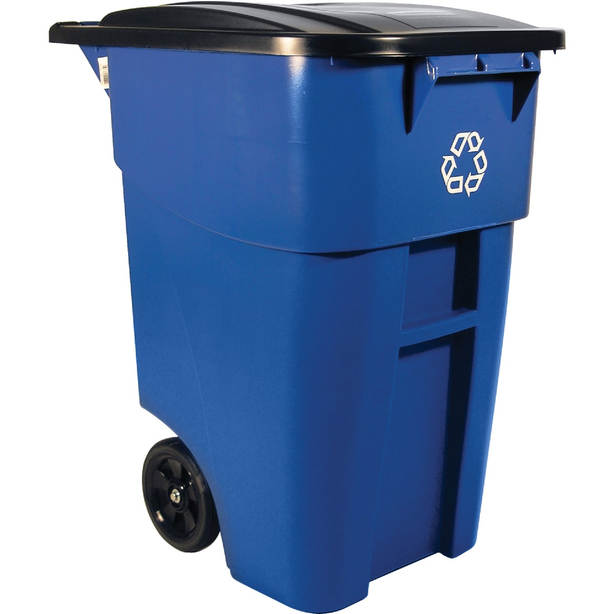 50GAL RECYCLING ROLLOUT - FG9W2773BLUE by Rubbermaid Comm Prod