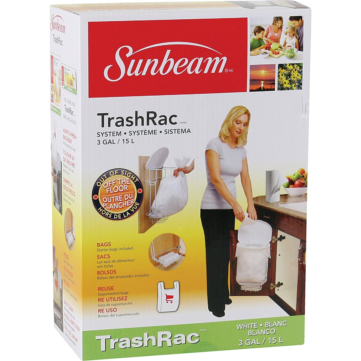 Prime Way TrashRac 3 Gallon Trash Bag Rack Frame at Sears.com