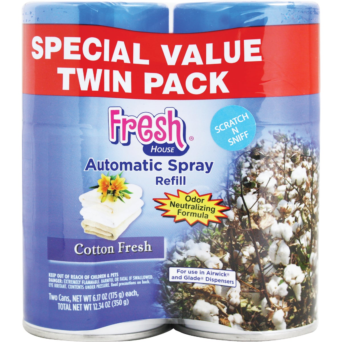 2Pk Cotton Air Spray