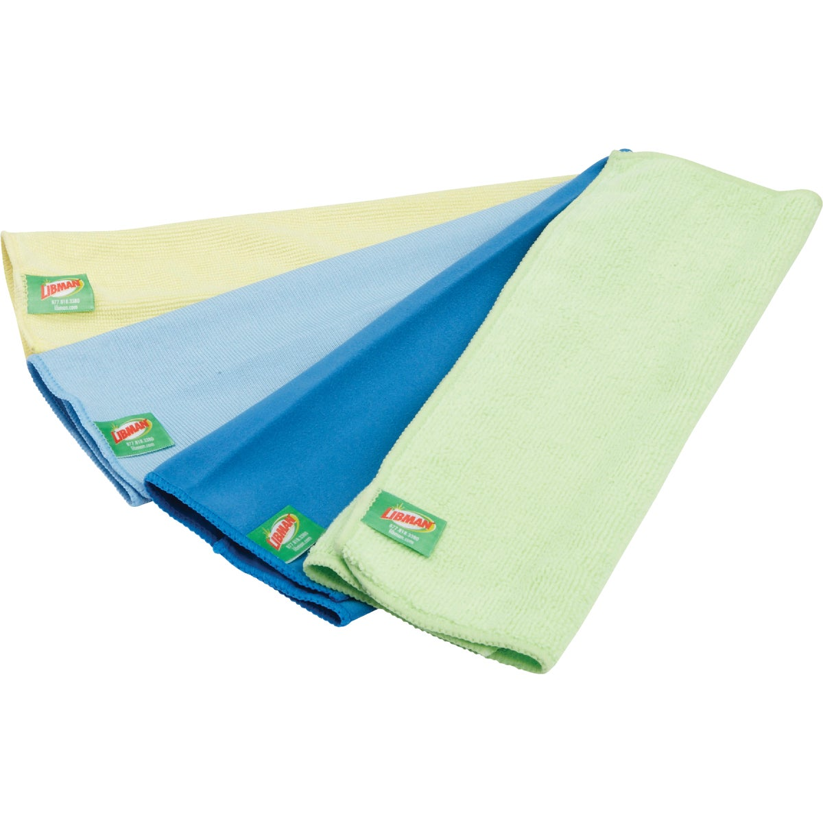 3PK ASTD MICROFIBR CLOTH - 138989 by F H P-lp