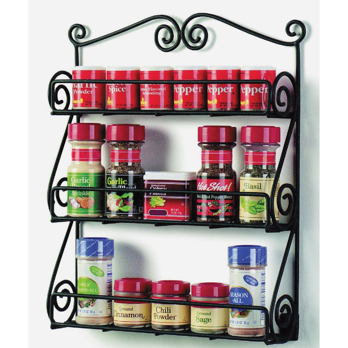 BLACK SPICE RACK - 43710 by Spectrum Diversified