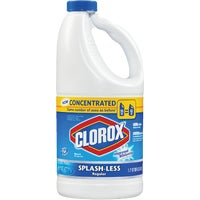 Clorox Splash-Less Concentrated Liquid Bleach, 30783