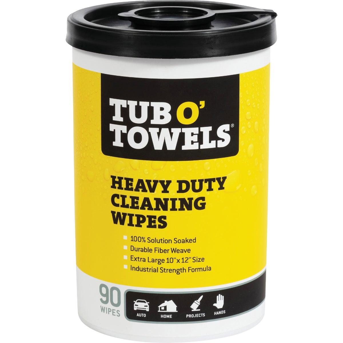 Tub O' Towels Cleaning Wipes