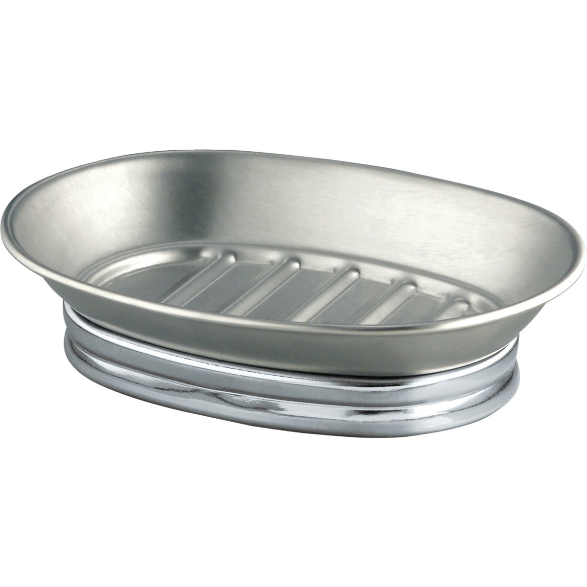 YORK METAL SOAP DISH - 76050 by Interdesign Inc