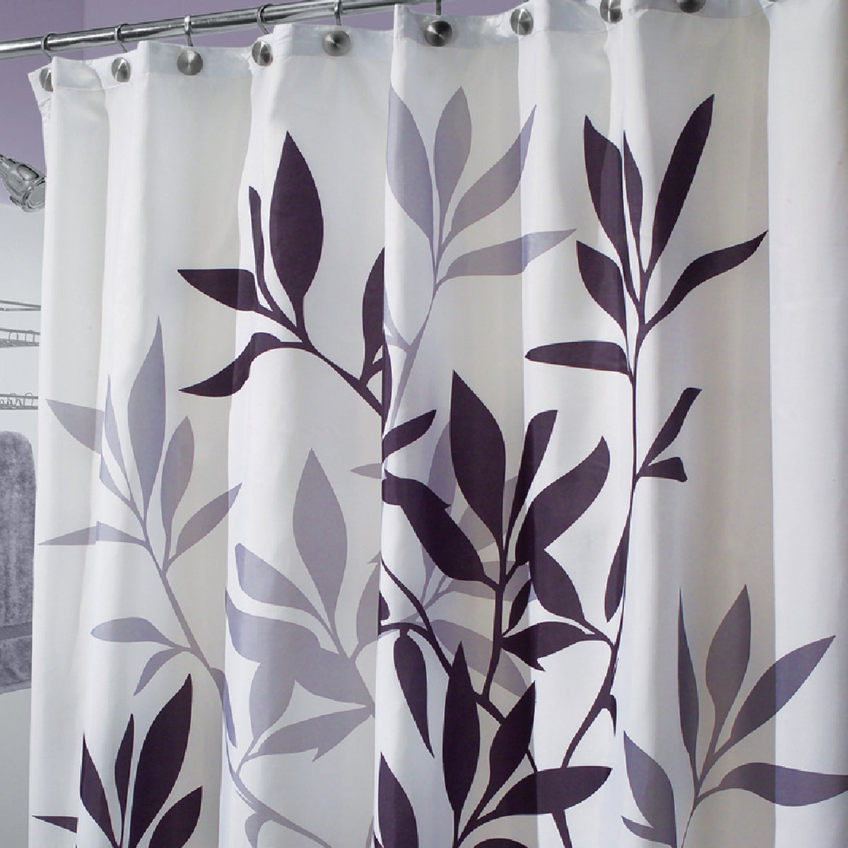 LEAVES SHOWER CURTAIN - 35620 by Interdesign Inc