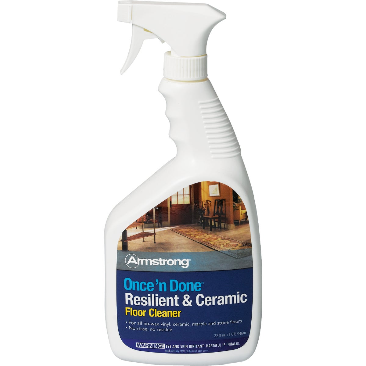 Armstrong Once 'N Done Resilient & Ceramic Floor Cleaner