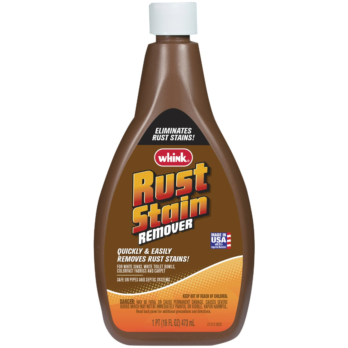 16OZ RUST/STAIN REMOVER - 01291 by Whink Products Hotle