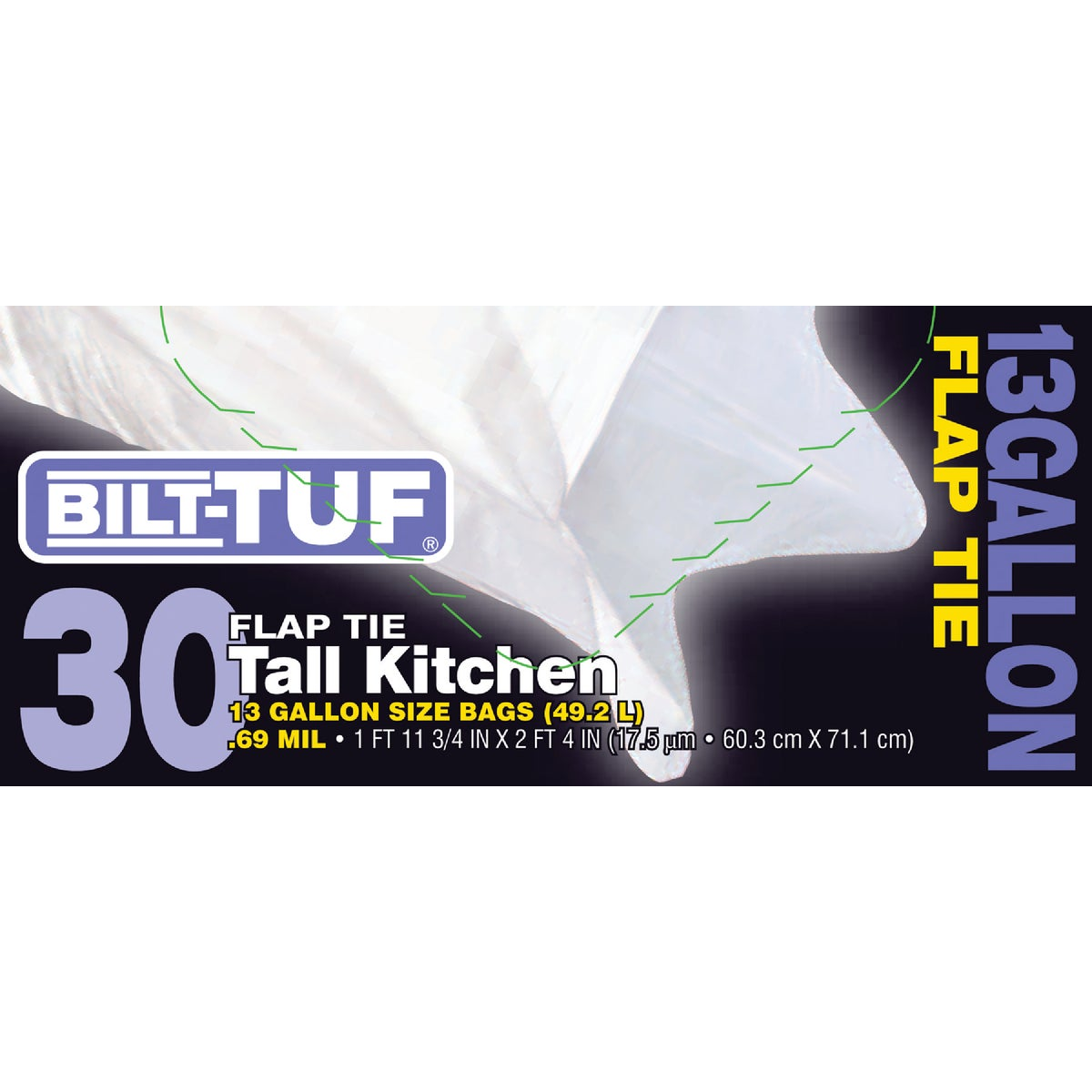 KITCHEN BAG 13G/30CT - GKL032570 by Presto Products