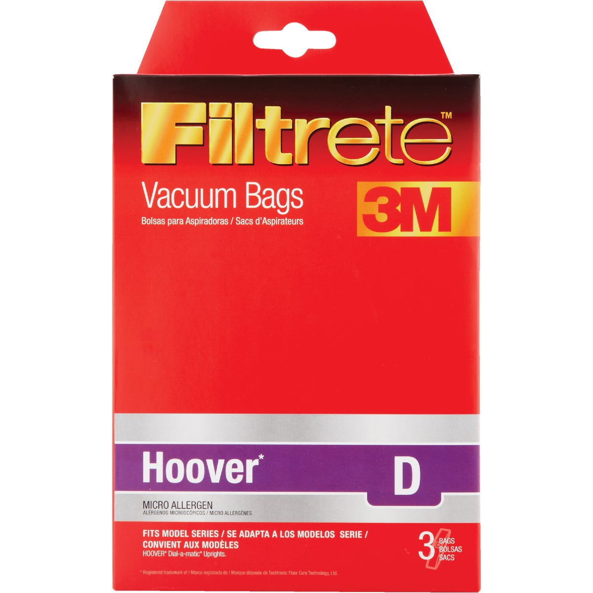 3M HOOVER D VACUUM BAG - 64711-6 by Electrolux Home Care