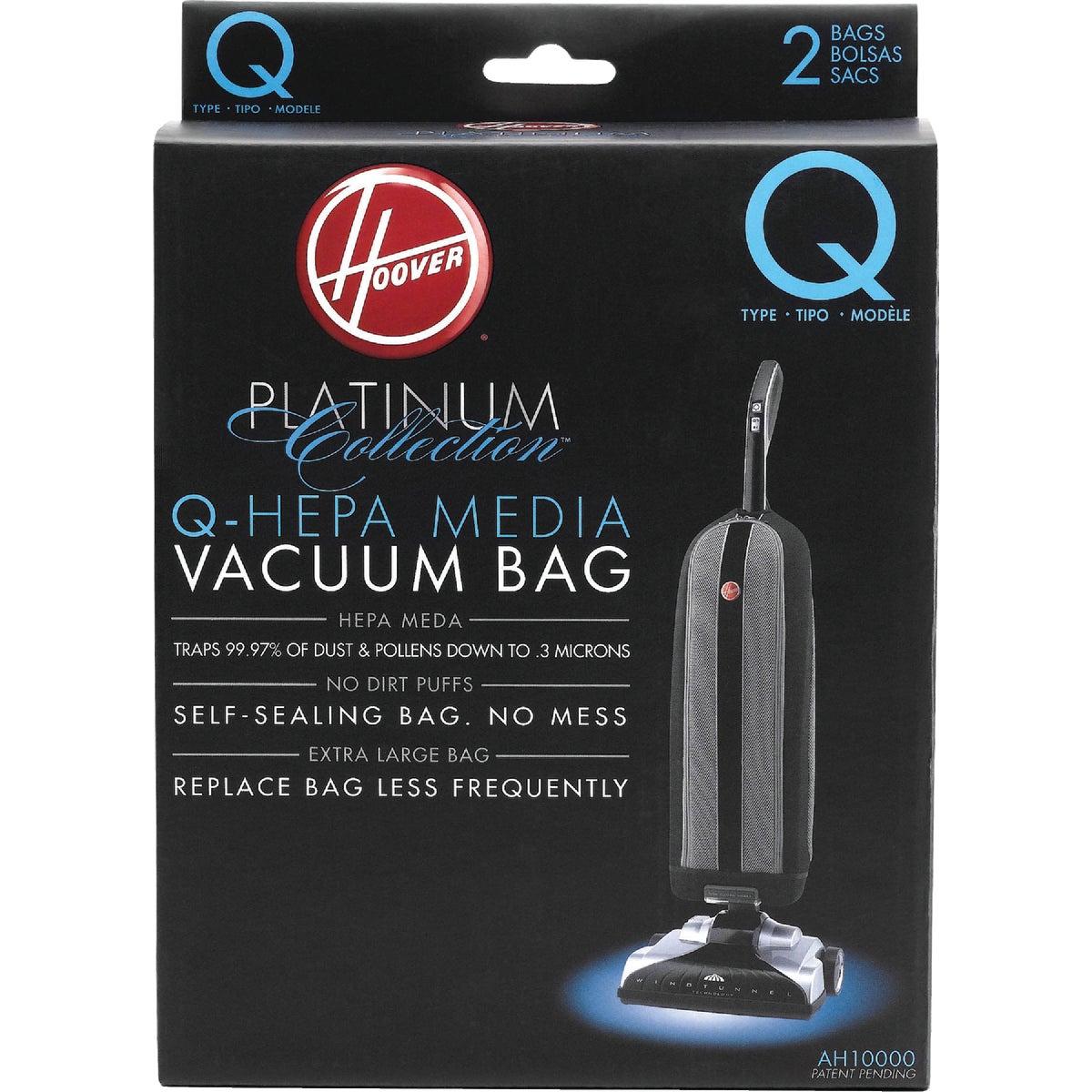 2PK Q HEPA VACUUM BAG - AH10000 by Hoover Co
