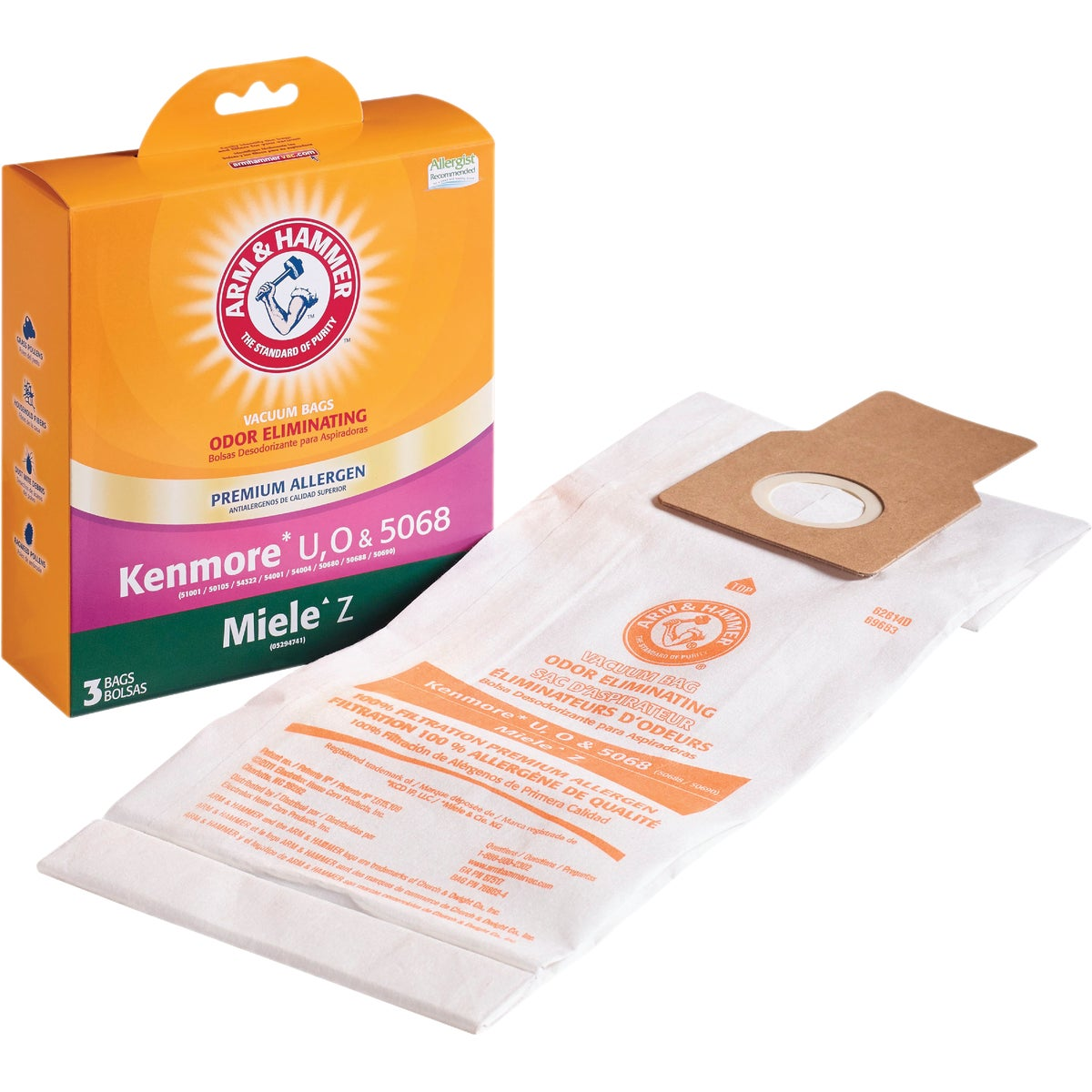 3M KENMORE VACUUM BAG - 68707A-2 by Electrolux Home Care
