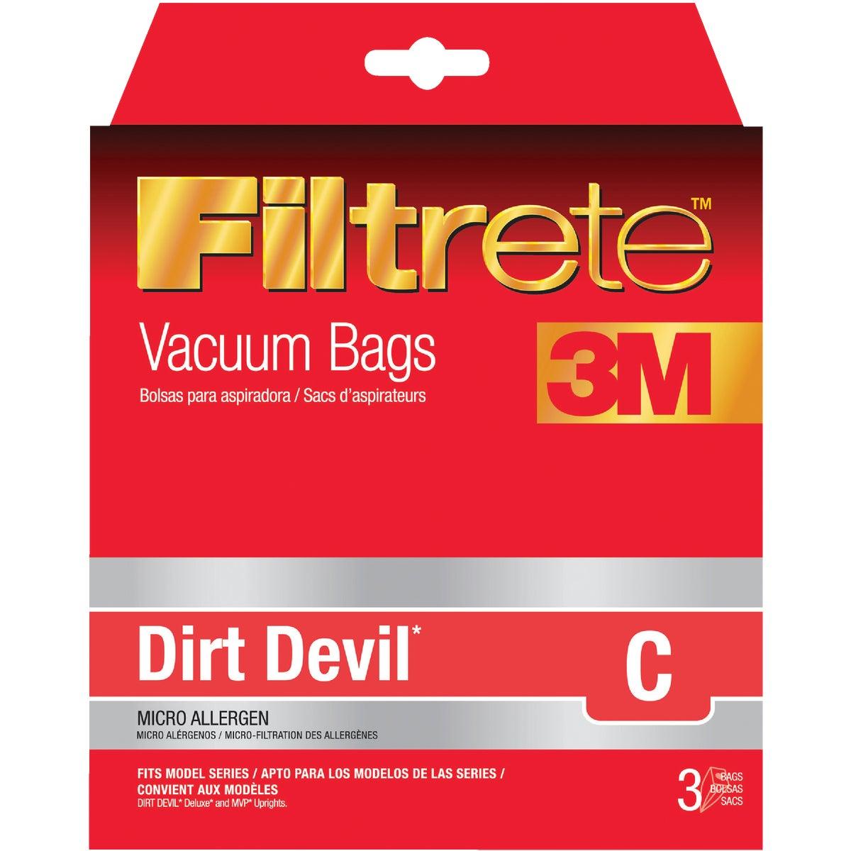 DIRT DEVIL C VACUUM BAG - 65700-6 by Electrolux Home Care