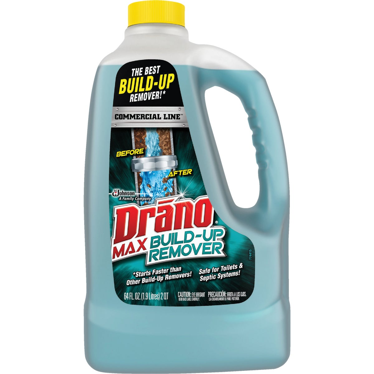 DRANO BUILD UP REMOVER - 70240 by Sc Johnson
