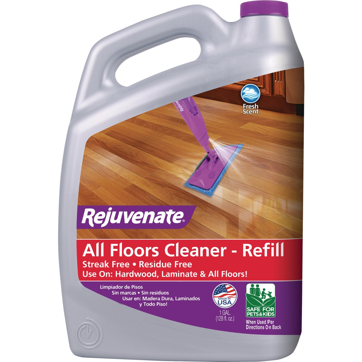 128OZ FLOOR CLEANER - RJFC128 by For Life Products
