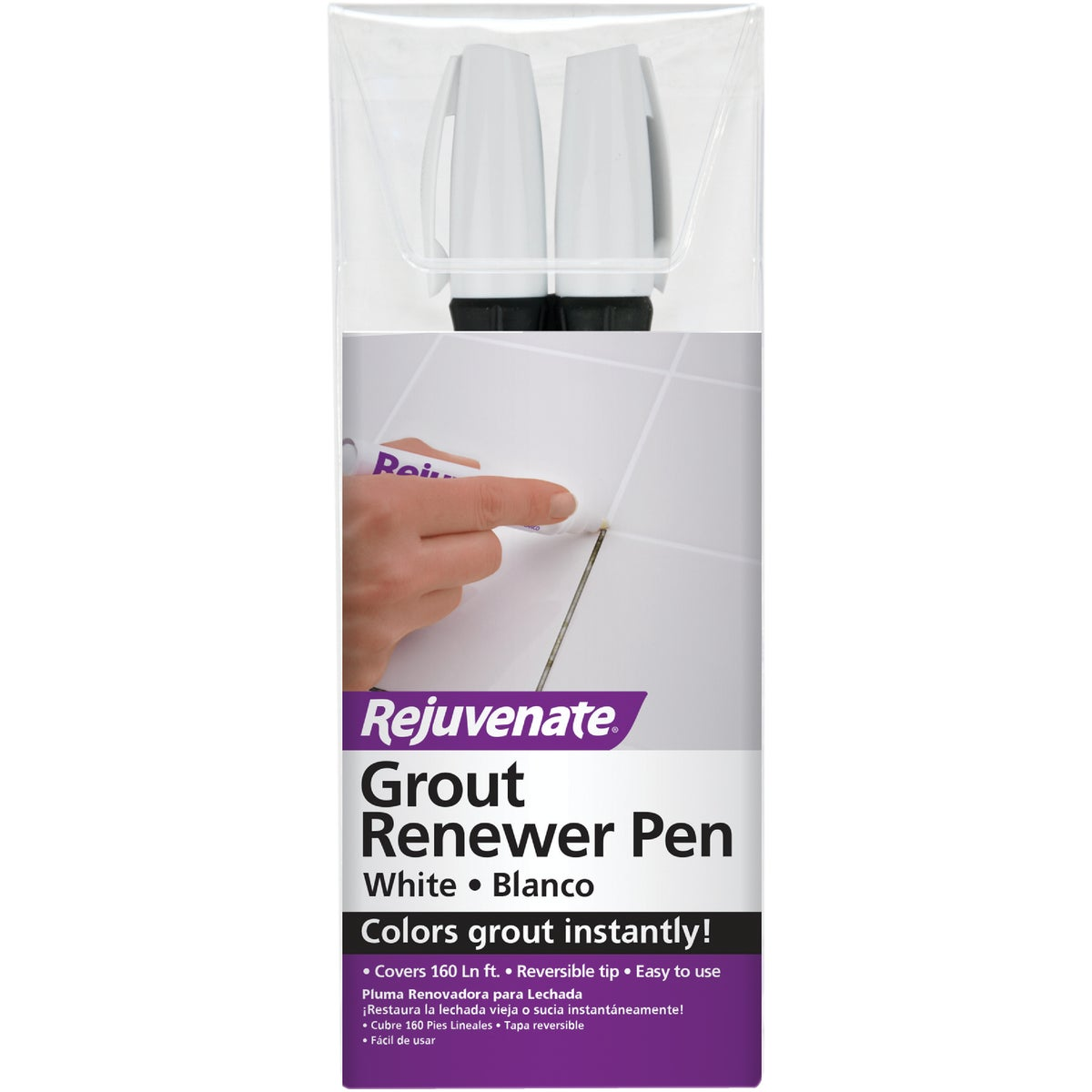 White Grout Repair Pen