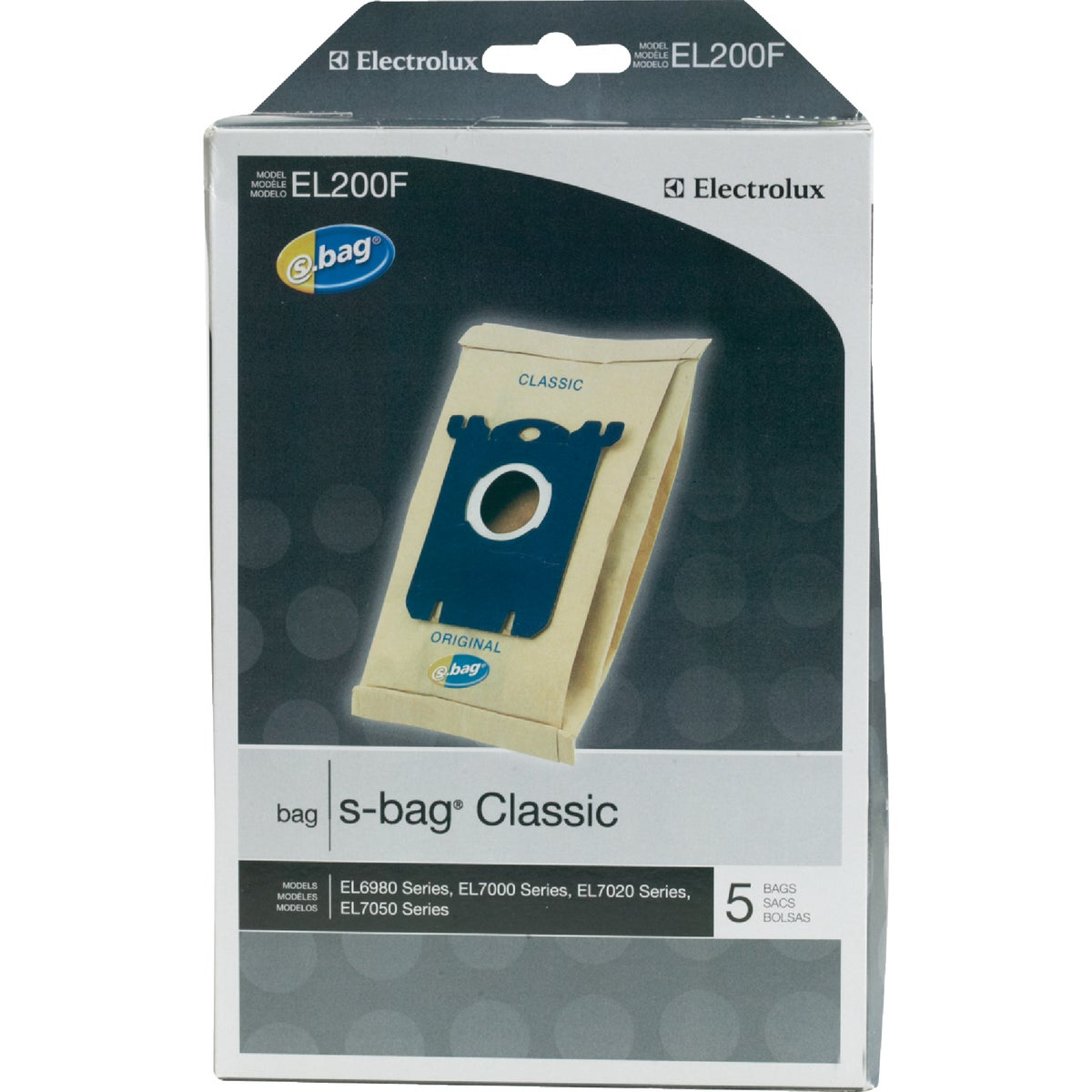 TYPE S VAC CLEANER BAG - EL200F-4 by Electrolux Home Care