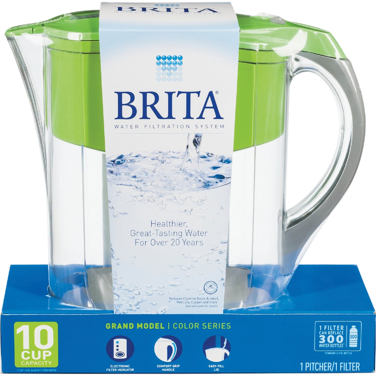 BRITA GRN GRAND PITCHER